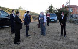 Çankırı Valisi Şehit Ailesini ziyaret etti