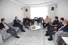 Kaymakam ve Belediye Başkanı Demirbaş'tan Gazilere ziyaret