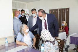 Çubuk'ta  Gaziler  Şehit yakınları ve huzur evine ziyaretler