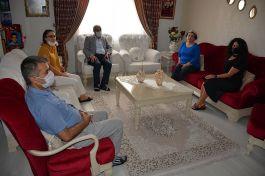 Çukurova'da Şehit Ailelerine evlerinde ziyaret