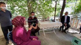 Cumhurbaşkanı Şehit Ailesi ile telefonla Bayram kutlaması yaptı