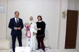 Cumhuriyet Başsavcısı Şehit ailesini ziyaret etti