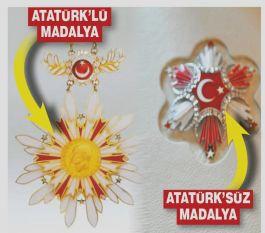Danıştay Devlet Madalyalarından Atatürk'ü çıkartı