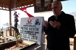 Dayısı Şehit polis Fethi Sekin'i anlattı(Video)