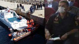 Denizde Kaybolan Askerin Naaşı bulundu