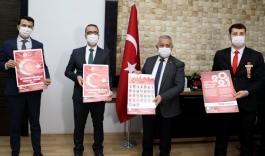 Dernek Başkanı İstifa ettiren Şehitler takvimi yine basıldı