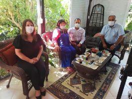 Didim Kaymakamı Şehit Ailelerini ziyaret etti