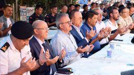 Dışişleri Bakanı Çavuşoğlu şehit mevlidine katıldı