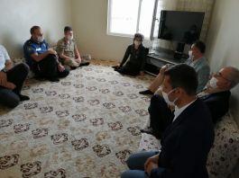 Diyarbakır Çınar'da şehit aileleri ve gazilere bayram ziyareti