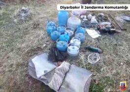 Diyarbakır'da 45 kilogram amonyum nitrat ele geçirildi
