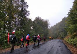 Doğa sporcuları Şehit anısına yürüdü