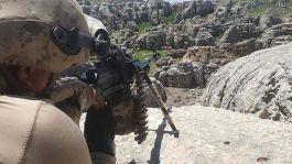 Doğubayazıt kırsalında 4 terörist öldürüldü