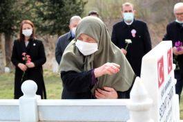 Doğum gününde Şehit olan Asker mezarı başında anıldı