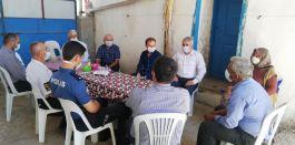 Dumlupınar protokolü şehit ve gazi ailelerini ziyaret etti
