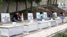 Dürümlü'de 5 yıl önce  Şehit edilen 16 sivil anıldı