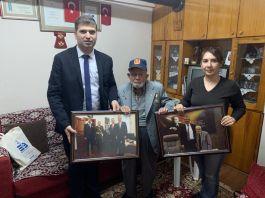 Edremit Belediye'den Gazilere ziyaretler