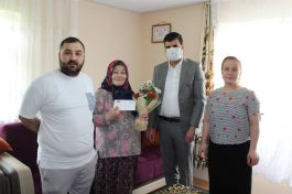 Eflani'de Şehit annelerine Anneler Günü ziyareti