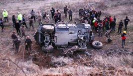 Elazığ'da Özel Harekât Polisi zırhlı aracı kaza yaptı: 5 Polis yaralı