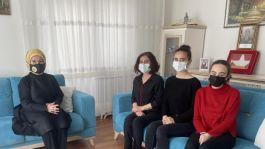 Emine Erdoğan Şehit ailesine taziye ziyaretinde bulundu