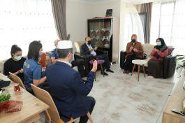 Emniyet Müdürü'nden Şehit ailelerine ziyaret