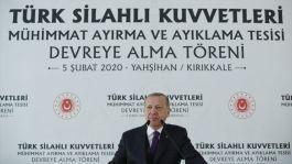Erdoğan: Füzelerimizi Hemen Suriye Sınırına yerleştireceğiz