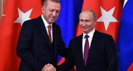 Erdoğan: Putin ile  Bu Akşam18:00 da Ateşkesi konuşacağım