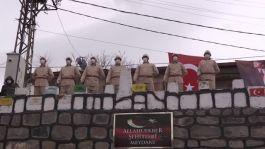 Erzurum'da Allahuekber Şehitleri anıldı