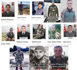 Esad Rejim güçleri 1 Haftada  12 Askerimizi Şehit etti 11 Askerimizi yaraladı