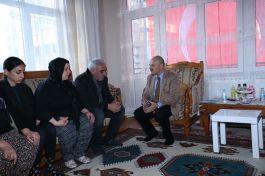 Eskişehir Vali'sinden Şehit Ailesine evinde ziyaret