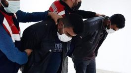 Eylem hazırlığındaki İşid'li teröristler konteynerde yakalandı