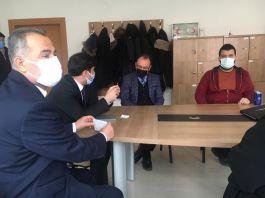 Fatih Gülnar Şehit babalarını ziyaret etti