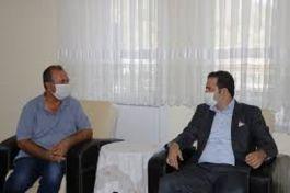 Fethiye'de Şehit ailelerine ziyaret