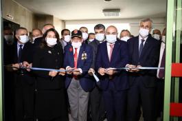 Gata'da Terör Gazileri için olan klinik yenilendi