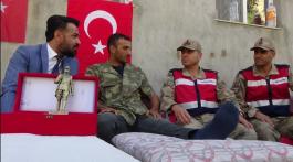 Gazi Asker Memleketine Döndü