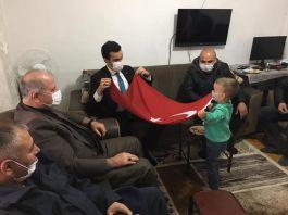 Gazi Askere İlçe yöneticilerinden ziyaret
