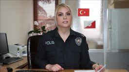 Gazi Bayan polis Mesleğine ilk günkü şevk ile devam ediyor