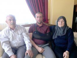Gazi Uzman Çavuş tedavisinin ardından memleketine döndü
