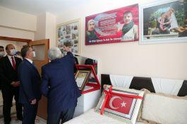 Gazi ve Şehit Ailesine Vali'den Ziyaret