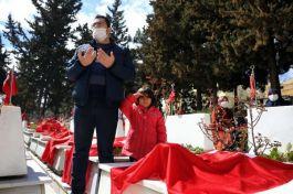 Gaziantep'te 18 Martta Şehitler anıldı