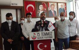 Gaziler, Gazileri Kınayan Basın Açıklaması yaptı