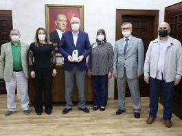 Şehitler Derneği'den Başkan Kurt'a ziyaret