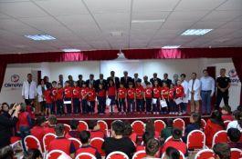 Gaziler'den Öğrencilere konferans