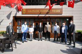 Gazilere Ankara'da Sosyal tesis yapıldı(video)