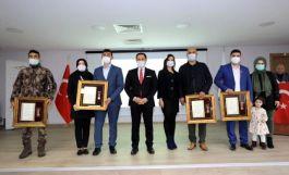 Gazilere Devlet Övünç Madalyası ve Beratı verildi