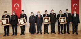 Gazilere devlet övünç madalyası ve beratları takdim edildi