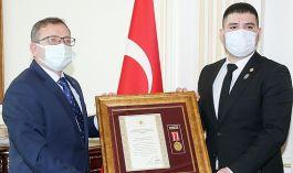 Gazilere Devlet Övünç Madalyası verildi