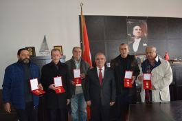 Gazilere  Milli Mücadele madalyası verildi