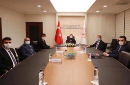 Genel Başkan Aile Bakanını Ziyaret etti