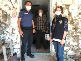 Gördes'te Şehit aileleri evlerinde ziyaret edildi