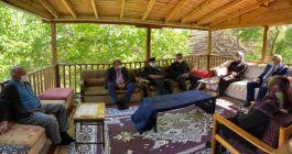 Güdül'de Şehit aileleri ziyaret edildi
